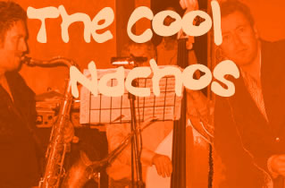 The Cool Nachos - Bristol latin-jazz, swing & funk band - events, parties & weddings.